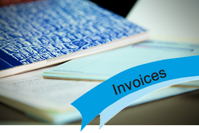 Invoices and numbered books